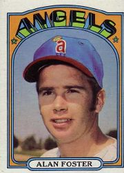 1972 Topps Baseball Cards      521     Alan Foster